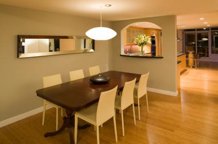 dining room luxury penthouse condo