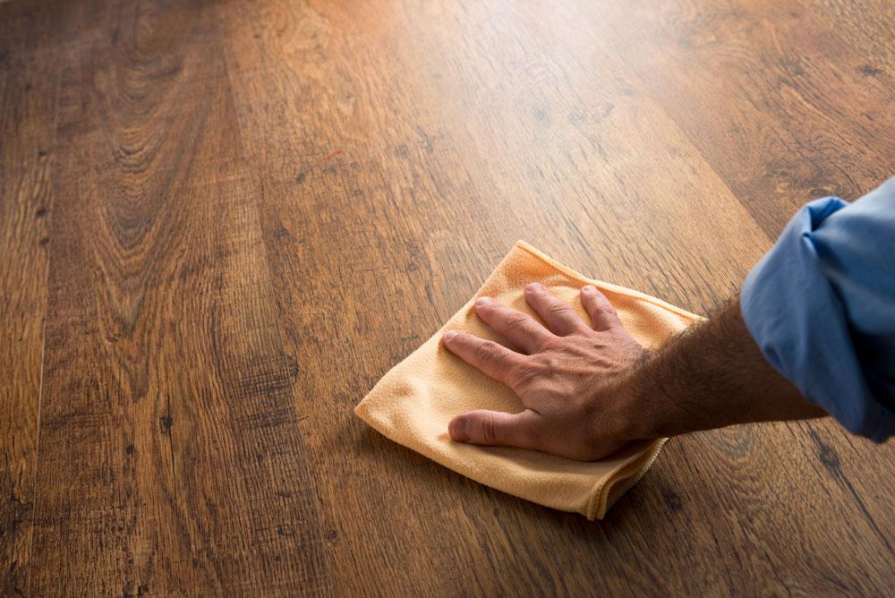 wiping floor